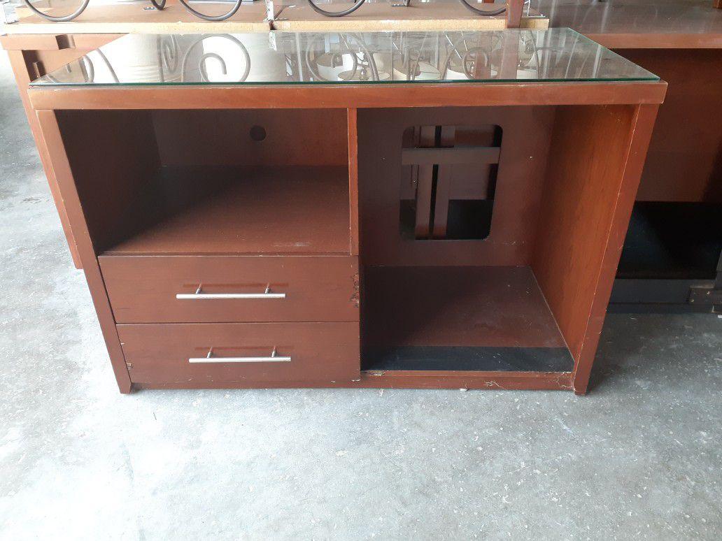 Glass Dresser Chest $$100