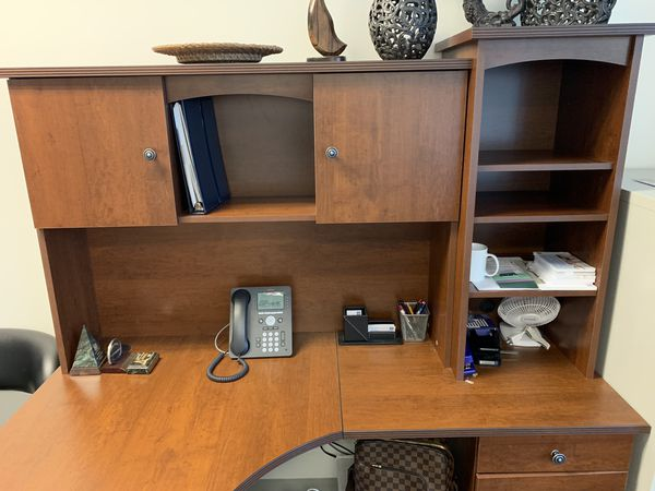 Office Desk With Removable Side Filing Cabinet And Storage For Pick Up Next To Santana Row Must Go Asap
