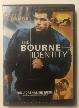The Bourne Identity DVD Movie for Sale in West Covina, CA