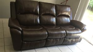 Almost new reclinable sofa for Sale in Davie, FL