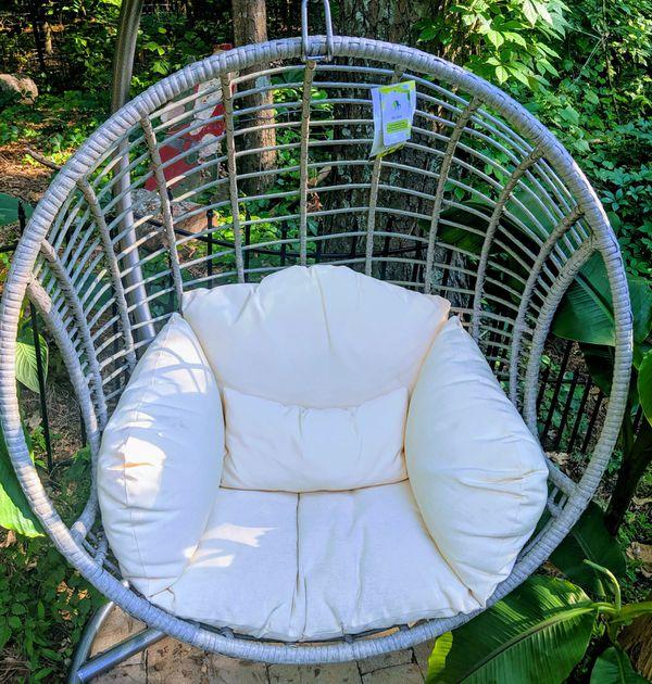Patio Furniture Store Marietta Ga: Coolest Wicker Egg Chair!!! For Sale In Marietta, GA