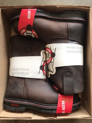 Rio Grande Steel Toe Work Boots Size 6-7.5 8 9.5 10.5 12 & 13 for Sale in Downey, CA