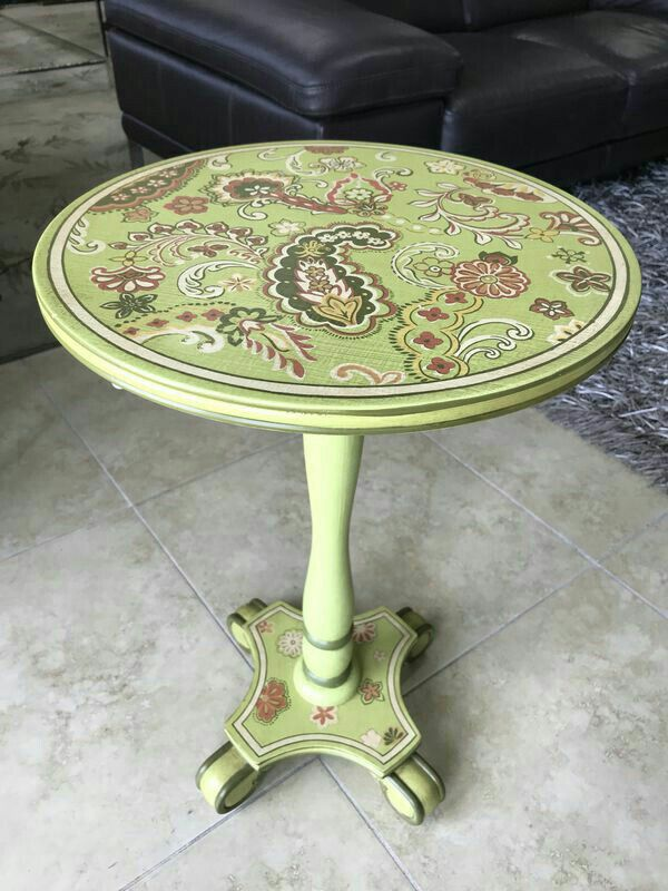 Lime Green Decorative Accent Table Plant Stand End For In Oakland Park Fl Offerup