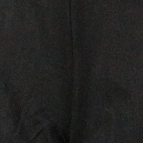H by Halston Women's Leggings Sz 16P Petite Ponte w/ Faux Leather Black A311511