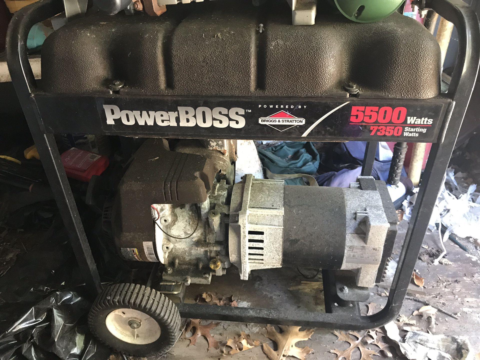 Power boss 55 watts generator