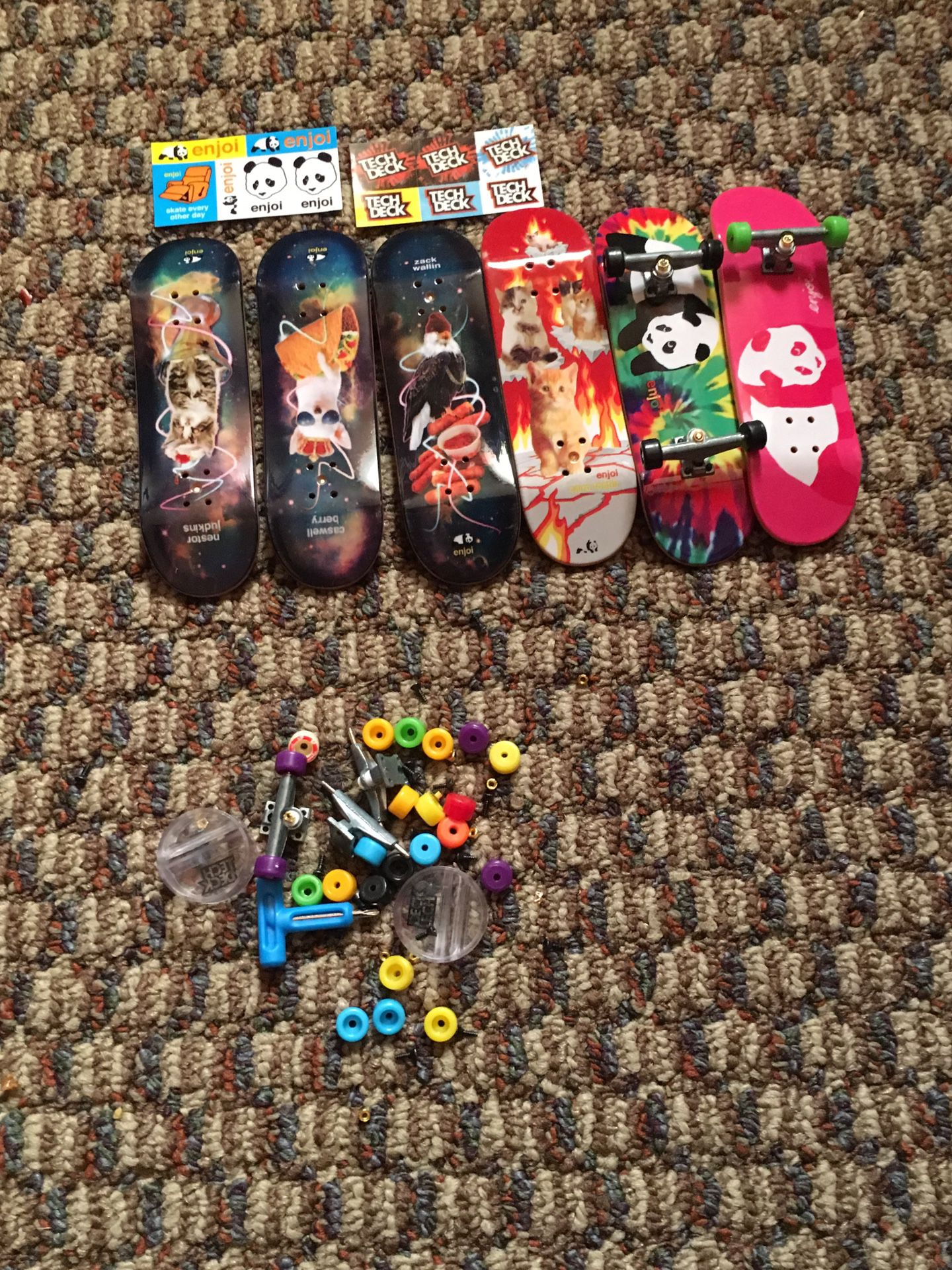 Tech deck for sale never used them only one time
