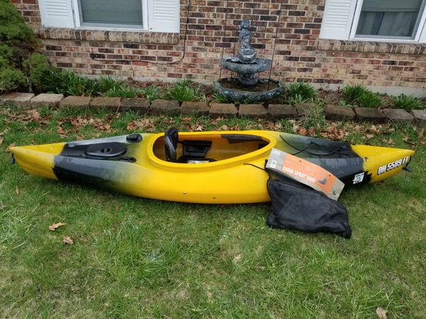 95 Ft Old Town Otter Sport Kayak With New 60 Skirt For Sale In