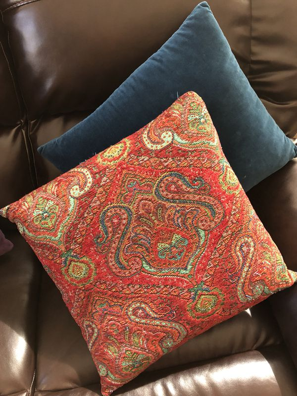 Beautiful World Market Decorative Throw Pillows For Sale In Phoenix