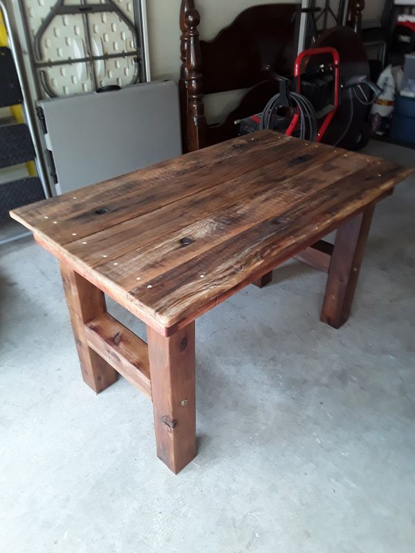 Rustic Antique Wood Kitchen Table for Sale in Houston, TX ...