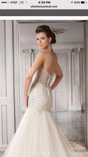 Wedding dress sz14 really 6/8 for Sale in Atlanta, GA
