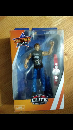 Wwe Seth Rollins and dean ambrose tag title figures for Sale in Selden, NY