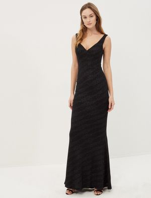 Black long evening dress for Sale in Oxon Hill, MD