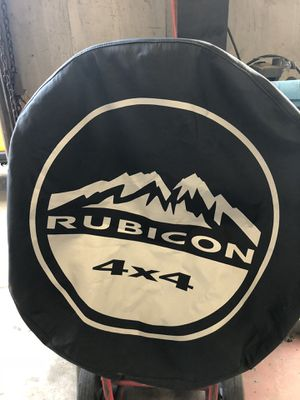 "Jeep rubicon JK 17 "" tire cover $35. Dlls for Sale in Houston, TX"