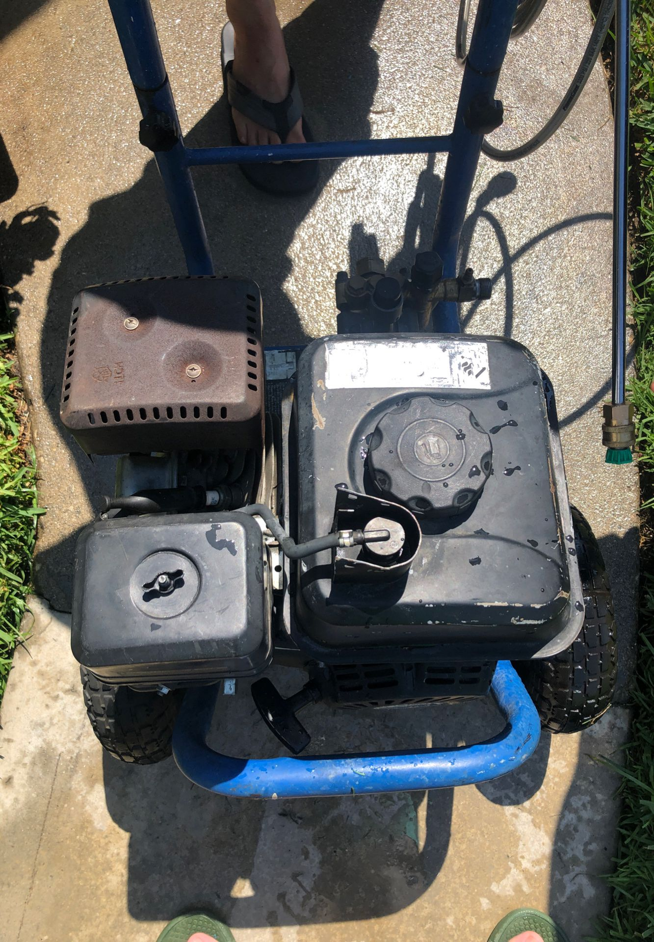 Pacific hydro star power washer