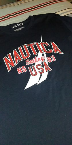Nautica USA Shirt Sz Large Men Thumbnail