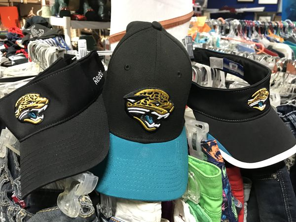 d0c8580a3f8 Jacksonville jaguars football hats and visors set of three for Sale in ...