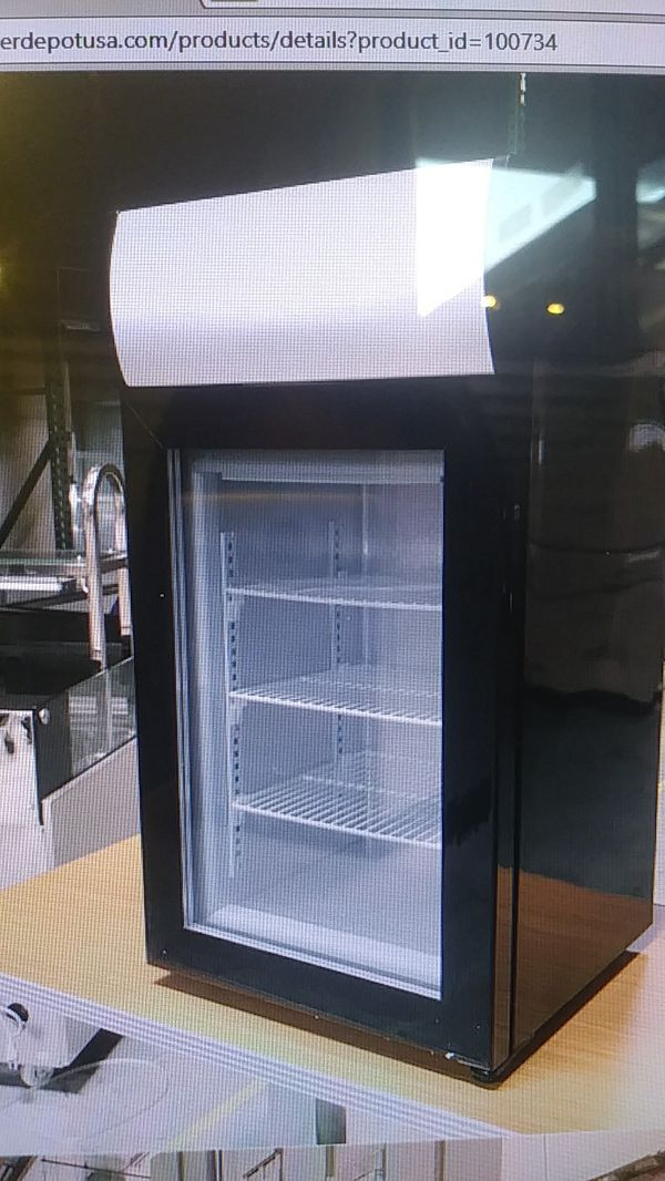 Nsf Countertop Glass Freezer One Door Ul Etl Merchandiser Ice Cream Commercial For In El Monte Ca Offerup