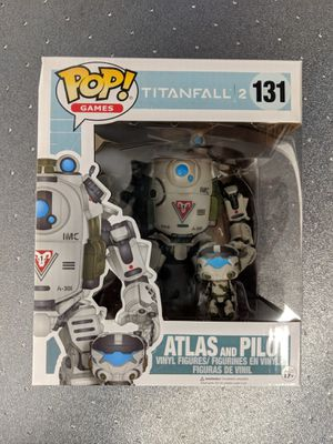 Funko POP Atlas and Pilot Gamestop Exclusive #131 Titanfall 2 for Sale in Rockville, MD