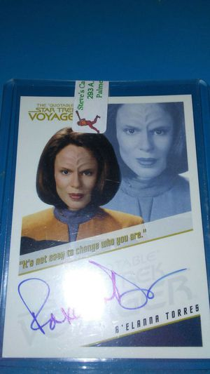 B'lanna torres crew member of voyager . for Sale in Cleveland, OH