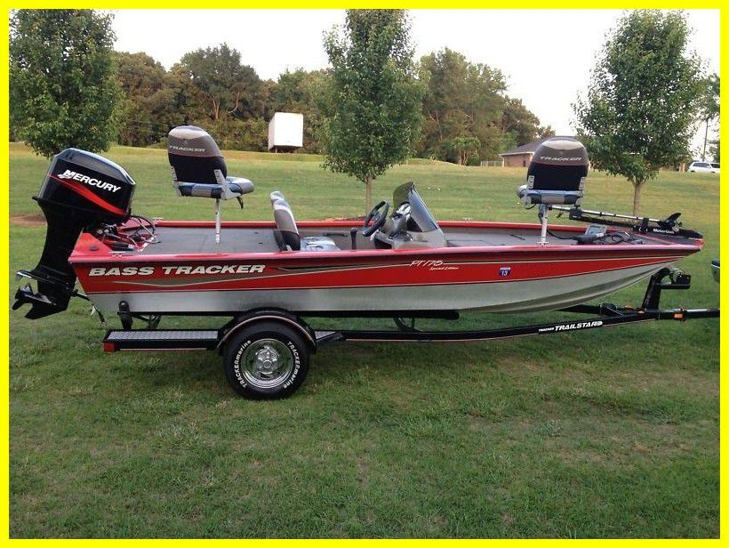 Photo Boat2005 Bass Tracker Pro Team 175 Boat low hours
