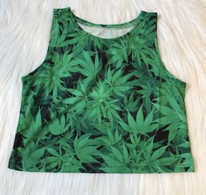 420 weed crop top never worn for Sale in Silver Spring, MD