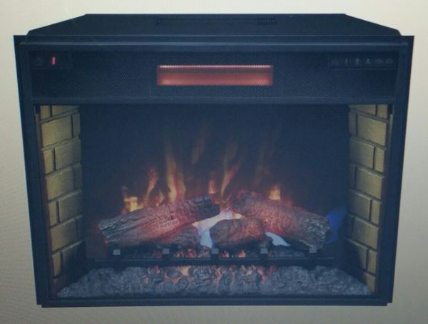 Classic Flame 28 Infrared Electric Fireplace Insert Savings Over