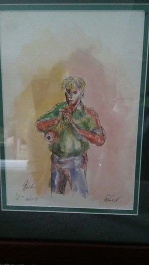 """Art, original, """"G Note"""" by George Nock (1NFL) for Sale in Baltimore, MD"""