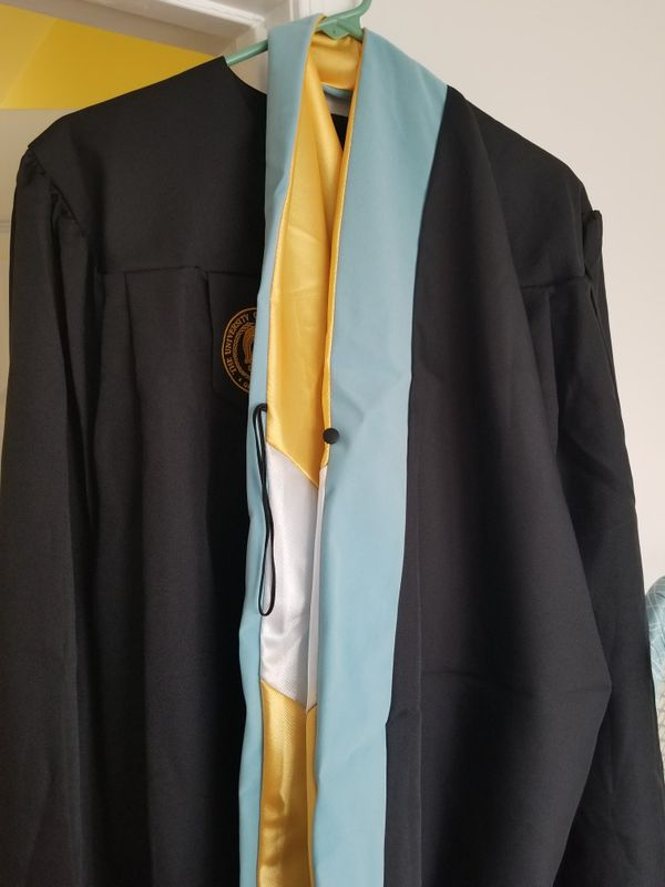 Uncg Masters Of Science Graduation Cap And Gown Clothing Shoes