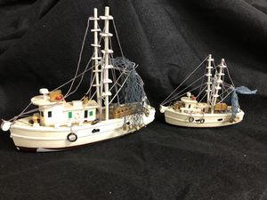 2 fishing ships models very nice for Sale in Denver, CO