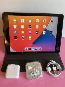 """Apple IPad 7th Generation (10.2"""" Retina  Display / Touch ID / 2019 model) 32GB  with Accessories (Apple pencil compatible)  Thumbnail"""