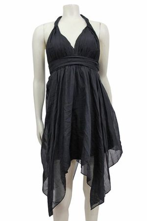 NEW GUESS BLACK TWISTED TANK DRESS - SZ 2 for Sale in Manassas, VA