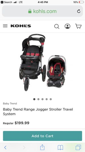 Baby Trend Jogger Travel System For Sale In Tyler Tx Offerup