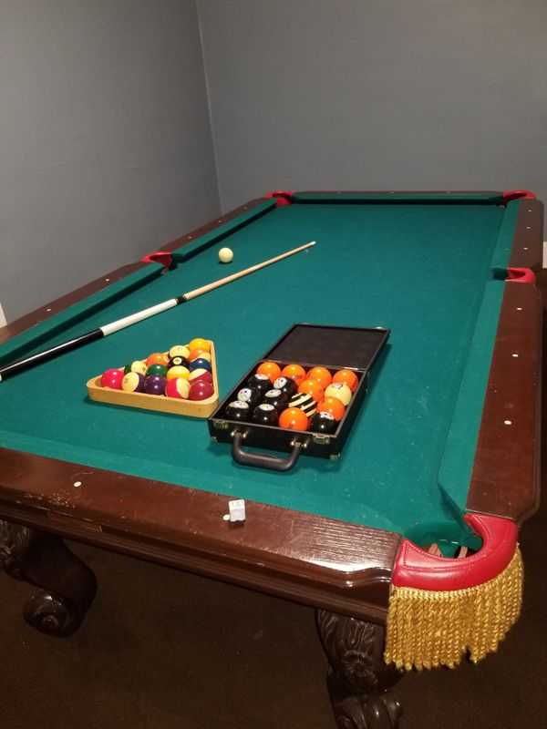 Billards Pool Table For Sale In Cleveland OH OfferUp - Where can i sell my pool table