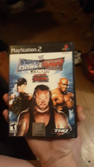 Photo WWE SMACKDOWN VS. RAW 2008