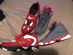 Jordans and Nike tennis shoes Size 6 1/2 boys both for only $65 for Sale in Washington, DC