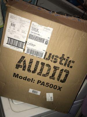 Acoustic Audio speakers for Sale in Orlando, FL