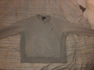 Grey Polo Ralph Lauren Sweater for Sale in Silver Spring, MD