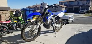Photo 2017 yamaha wr450, fuel injected, low hours