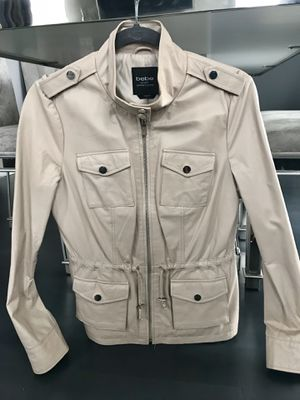 9da3b1c8c31 100% soft genuine leather bebe jacket size small for Sale in Glendale  Heights