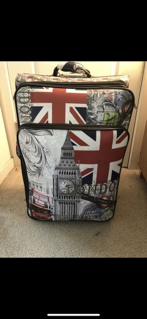 UK Themed luggage for Sale in Tysons, VA