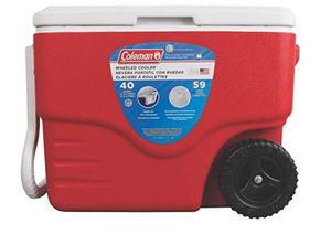 Coleman 40-Quart Wheeled Cooler for Sale in Los Angeles, CA