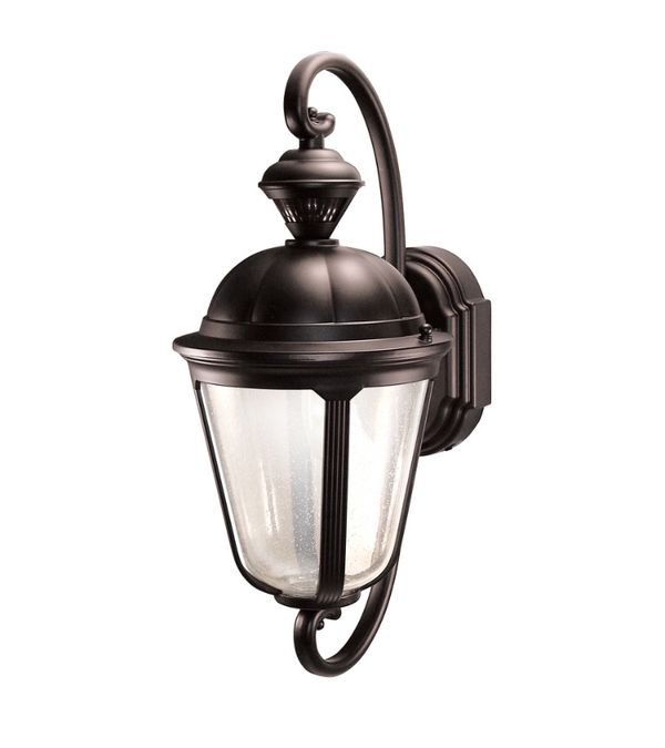 Heath Zenith Corinthian 19 In H Oil Rubbed Bronze Motion Activated Outdoor Wall Light For Hialeah Fl Offerup