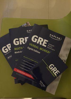 Kaplan GRE Prep Book Set for Sale in Miami, FL