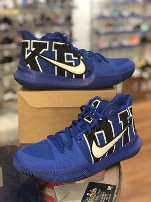 Duke Kyrie 3s size 9 for Sale in Silver Spring, MD