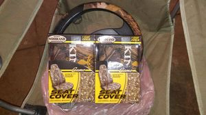 Camo seat and wheel cover for Sale in Cleveland, OH