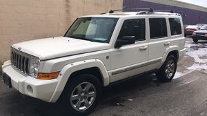 2008 Jeep commander Limmited fully loaded Hemi 5.7 clean title 163k miles no leaks nk lights daily driver new brakes and tires remote start hids for Sale in Fort Washington, MD