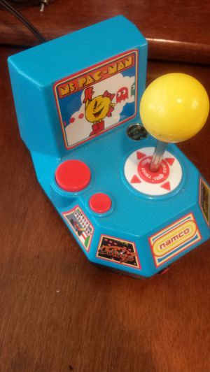 Used, 2004 Namco MS Pac-Man 5 in 1 Plug & Play TV Video Games Galaga, Pole Position, Xevious, and Mappy. In very good condition, tested and it works. for sale  Tulsa, OK