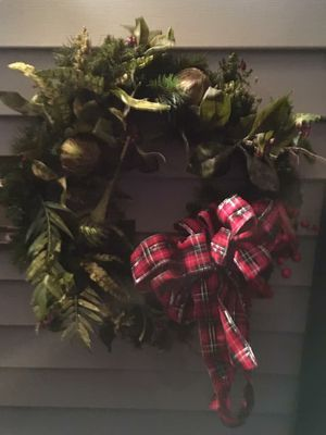 Christmas wreath for Sale in Warrenton, VA