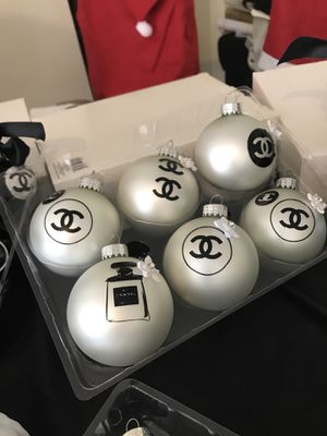 Chanel Christmas Ornaments.New And Used Ornaments For Sale In Lake Worth Fl Offerup