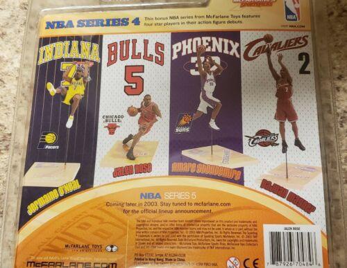 2003 McFarlane NBA Series 4 Jalen Rose Chicago Bulls #5 Action Figure